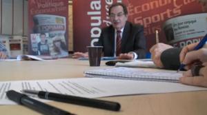 Alain Rodet, interrogé par Le Populaire du centre, le 16 janvier 2012