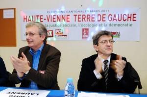 88740_jean-luc-melenchon-d-co-president-du-parti-de-gauche-pg-et-pierre-laurent-secretaire-national-du-parti-communiste-le-15-mars-2011-a-limoges-300x198 dans Limoges