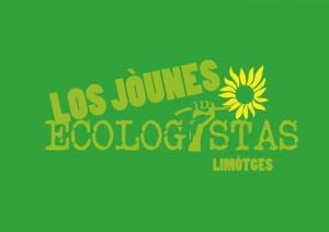 Le logo occitan des Jeunes écologistes limougeauds. Ces derniers prennent à bras le corps la question de la place de l'identité culturelle régionale. © Jeunes écologistes Limoges